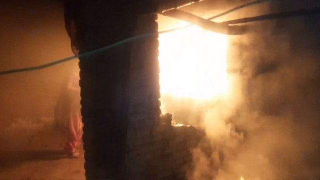 Charge of arson in girl's house