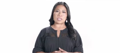 Yalitza Aparicio shared through her channel that she suffers from melasma on her face (Photo: Screenshot / YouTube)