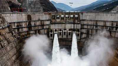 Baihetan Dam china
